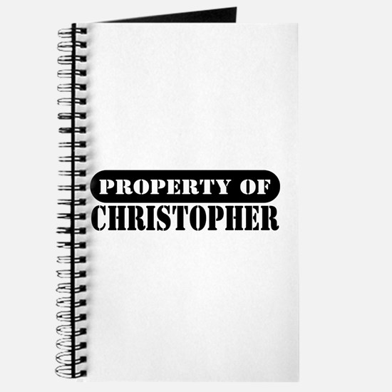 Property of Christopher Journal