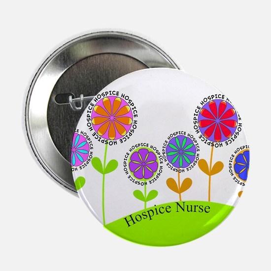 "Hospice Nurse BUCKET BAG 2.25"" Button"