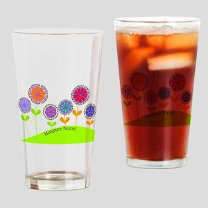 Hospice Nurse BUCKET BAG Drinking Glass