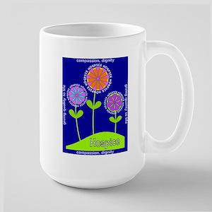Hospice Blanket Flowers Mugs