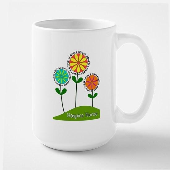 Hospice Nurse Flowers Mugs