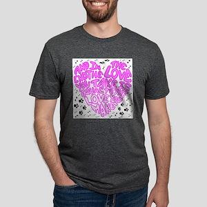 Love you make Mens Tri-blend T-Shirt