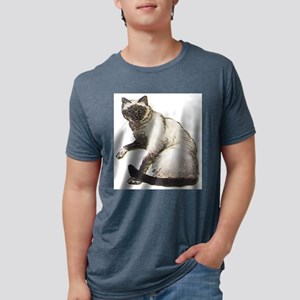 Birman cat Mens Tri-blend T-Shirt