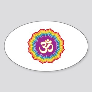 Seven Chakras Colors Sticker