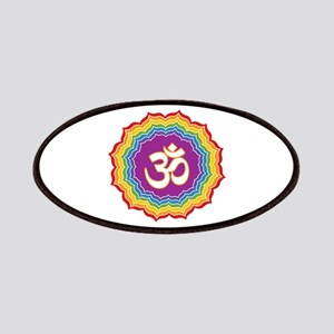 Seven Chakras Colors Patches