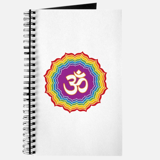 Seven Chakras Colors Journal