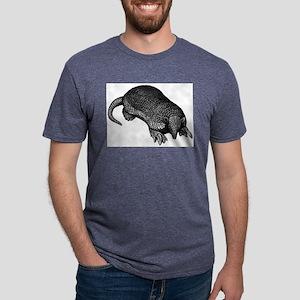 Giant Armadillo Mens Tri-blend T-Shirt