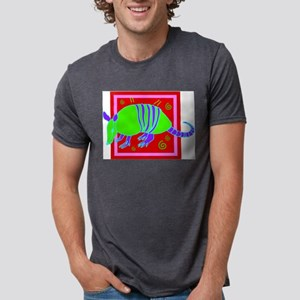 Armadillo Mens Tri-blend T-Shirt
