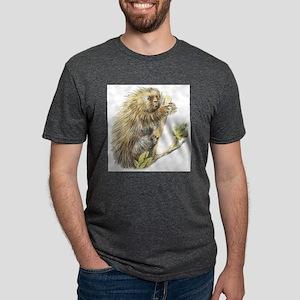 porcupine Mens Tri-blend T-Shirt