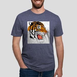 tiger Mens Tri-blend T-Shirt