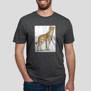 cheetah Mens Tri-blend T-Shirt