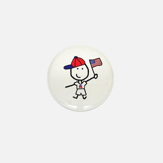 Boy & Republican Mini Button