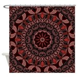 Chocolate Raspberries Shower Curtain