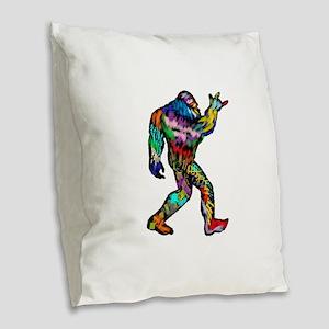 THIS RAWKKKKKKKS Burlap Throw Pillow