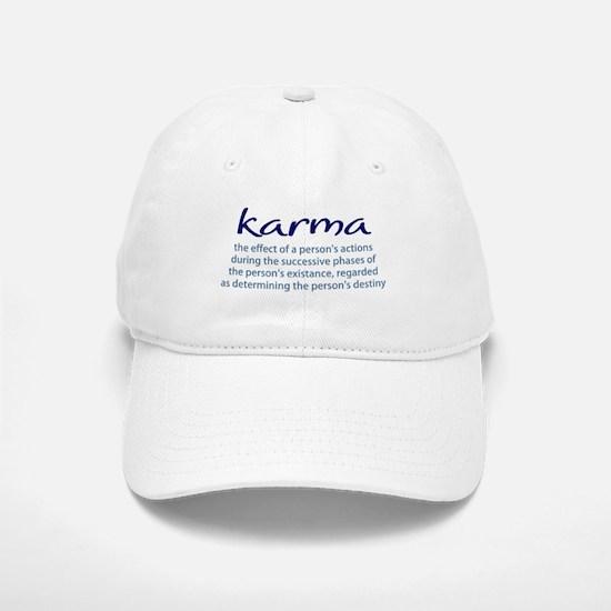 Karma Baseball Baseball Cap