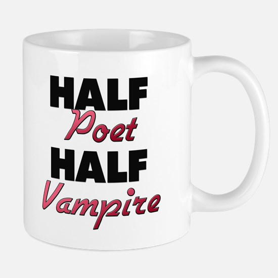 Half Poet Half Vampire Mugs