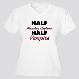 Half Planning Engineer Half Vampire Plus Size T-Sh