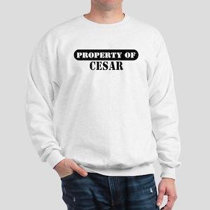 Property of Cesar Sweatshirt