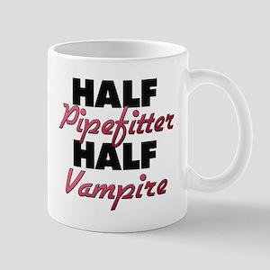 Half Pipefitter Half Vampire Mugs
