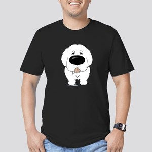 Big Nose Great Pyrenees Men's Fitted T-Shirt (dark