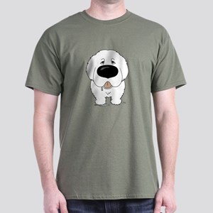 Big Nose Great Pyrenees Dark T-Shirt