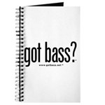 got bass? Journal