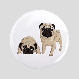 "Pugs 3.5"" Button"