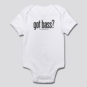 got bass?  Infant Bodysuit