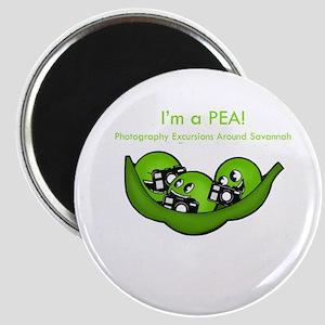 PEAS logo Magnets