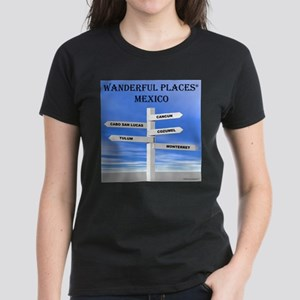 Mexico Women's Dark T-Shirt