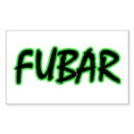 FUBAR ver3 Rectangle Sticker