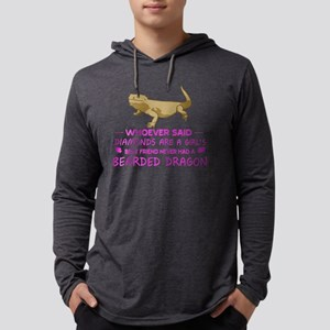 Bearded Dragon Mommy Long Sleeve T-Shirt