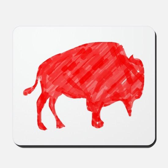 R Buffalo Roam Mousepad