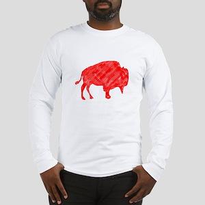 R Buffalo Roam Long Sleeve T-Shirt