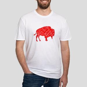 R Buffalo Roam Fitted T-Shirt