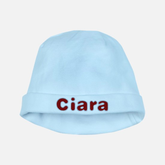 Ciara Santa Fur baby hat