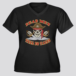 Dead Men Tell No Tales Plus Size T-Shirt