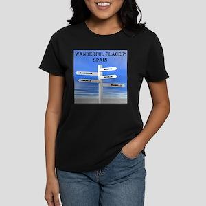 Spain Women's Dark T-Shirt