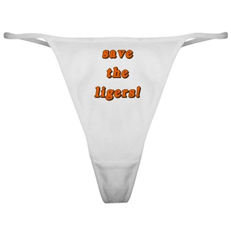 Save the Liger Classic Thong