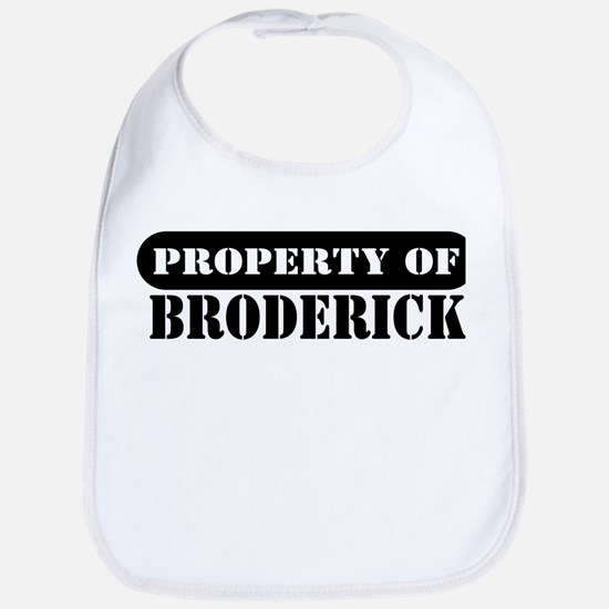 Property of Broderick Bib