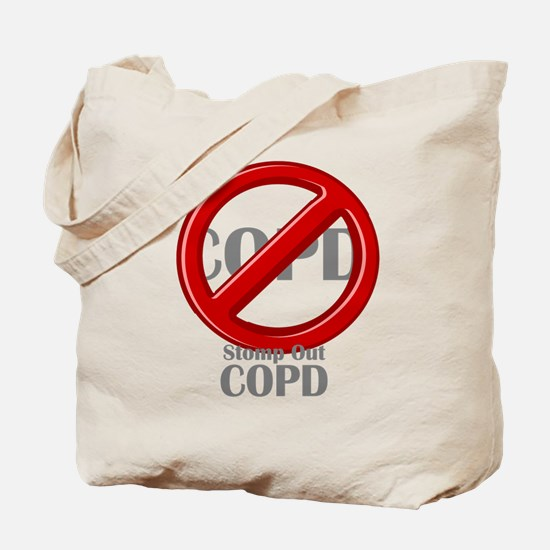 Stomp Out COPD Tote Bag