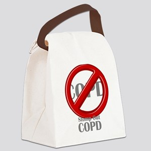 Stomp Out COPD Canvas Lunch Bag