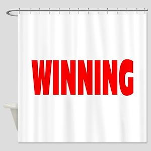 WINNING Shower Curtain
