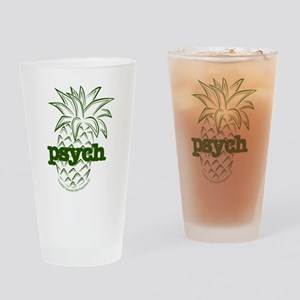 Psych Pineapple Pint Drinking Glass