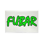 FUBAR ver4 Rectangle Magnet (100 pack)