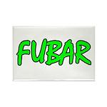 FUBAR ver4 Rectangle Magnet (10 pack)