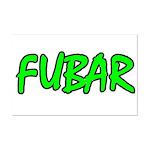 FUBAR ver4  Mini Poster Print