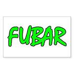 FUBAR ver4 Rectangle Sticker