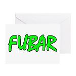 FUBAR ver4 Greeting Cards (Pk of 10)