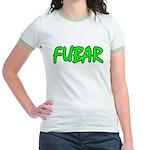 FUBAR ver4 Jr. Ringer T-Shirt